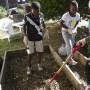 Robo Rebels Establish Their Garden Plot At First Quincy Community Garden