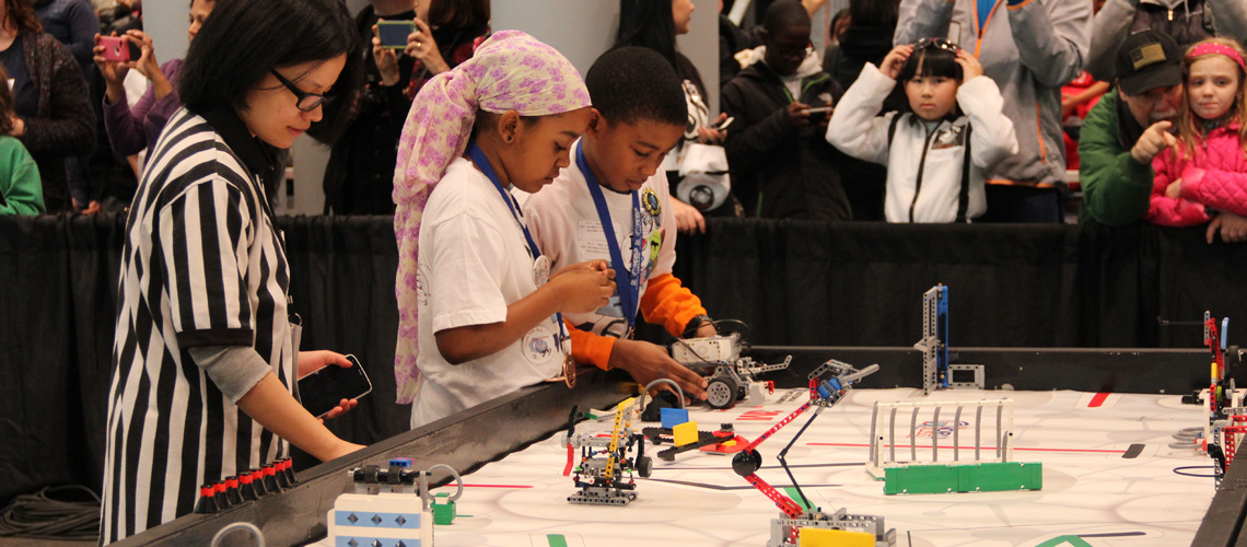 The Robo Rebels Compete at Jacob Javitz